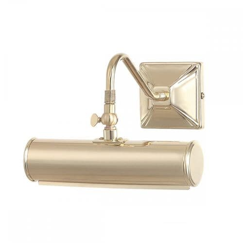 Elstead PL1/10 PB Picture Light One Light Small Picture Light Polished Brass
